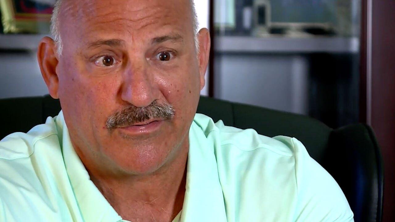 John Kazanjian of the Police Benevolent Association in Palm Beach County