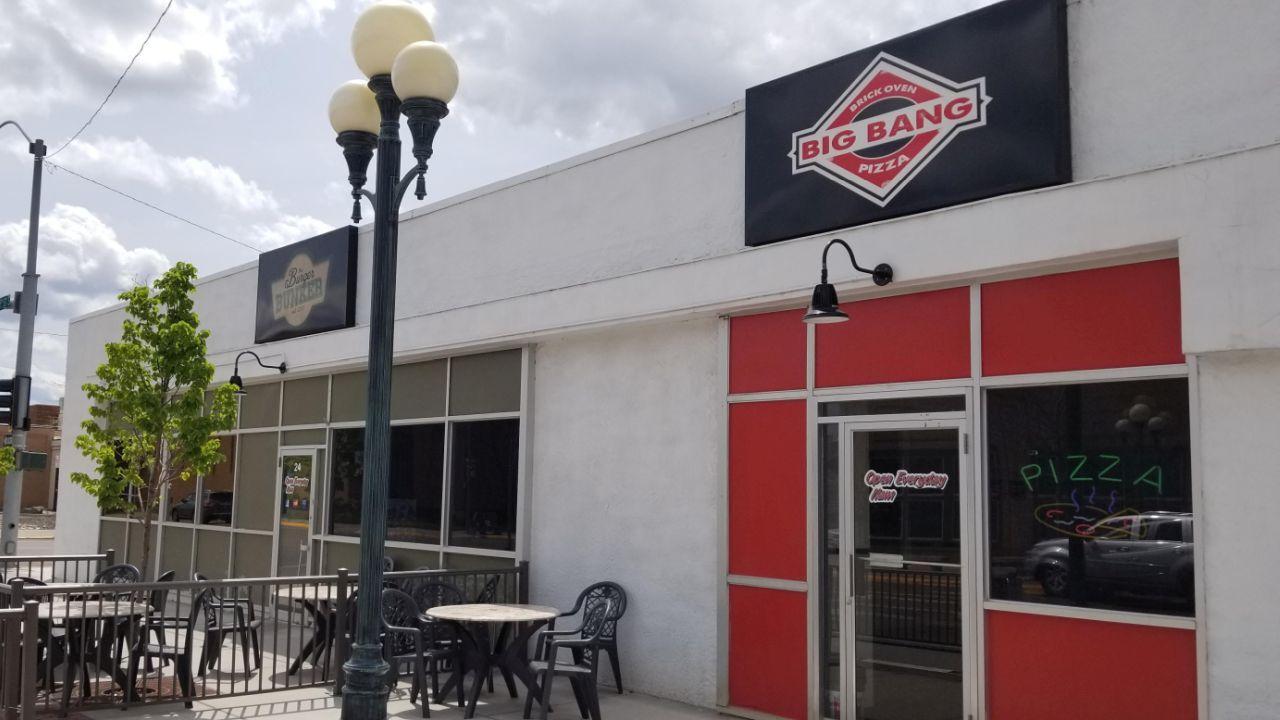 The Burger Bunker and former Big Bang Pizza