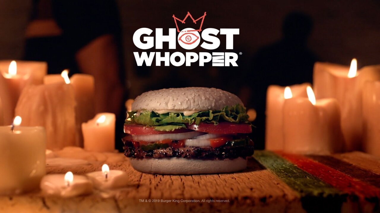 Burger King Halloween Whopper 2020 Burger King is selling a 'Ghost Whopper' for Halloween