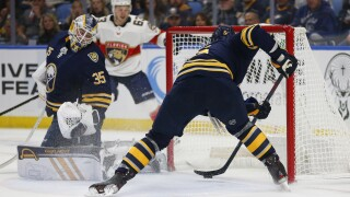 Linus Ullmark shines in Sabres shootout win