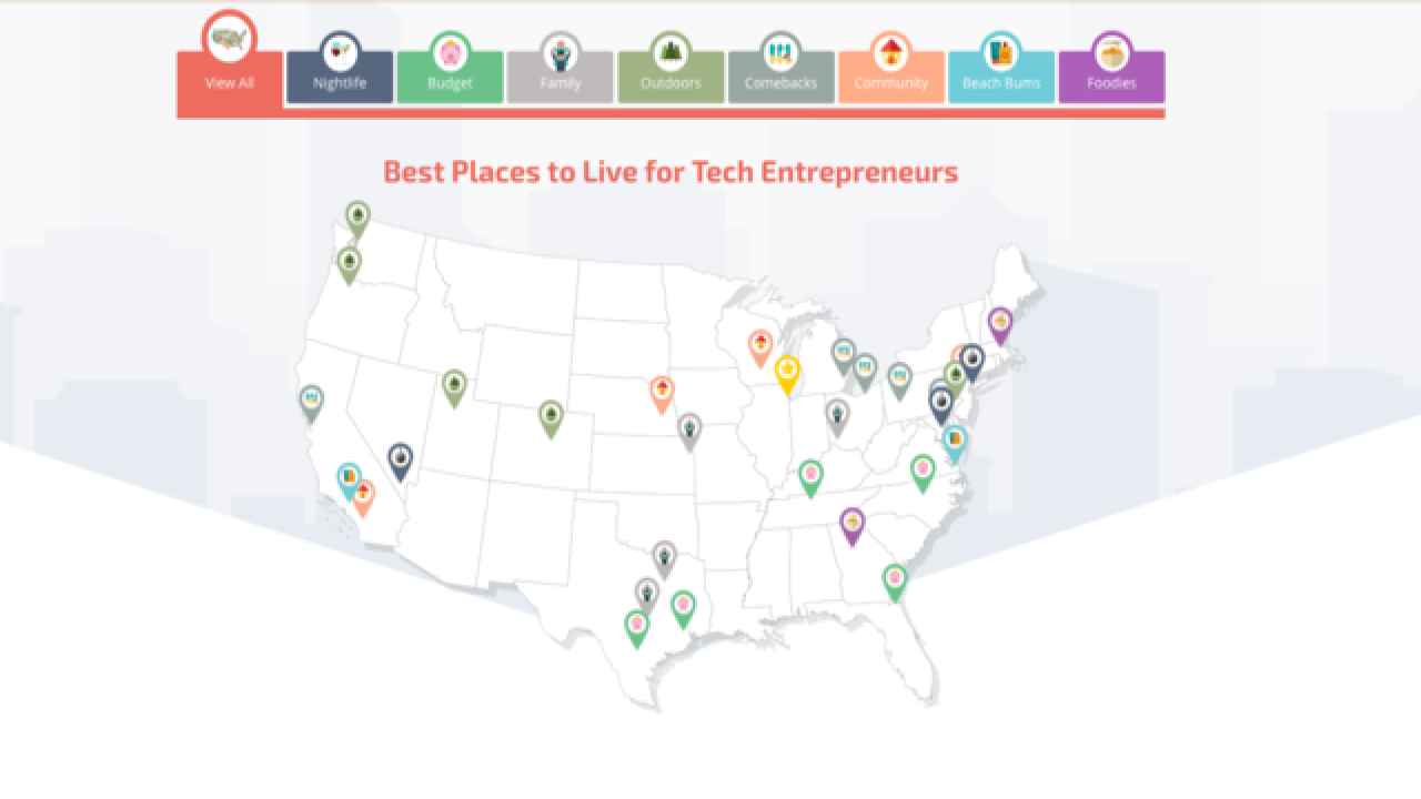 Detroit selected as one of the best places to live for tech entrepreneurs