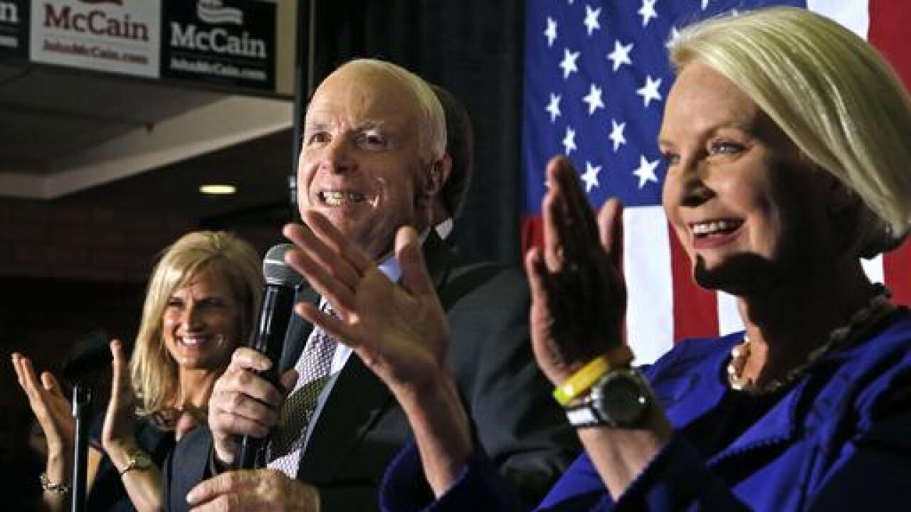 Cindy McCain, John McCain's widow, will endorse Joe Biden