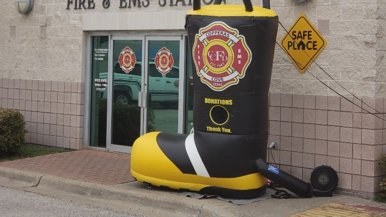 "Firefighters find ring after ""Fill the Boot"" campaign"