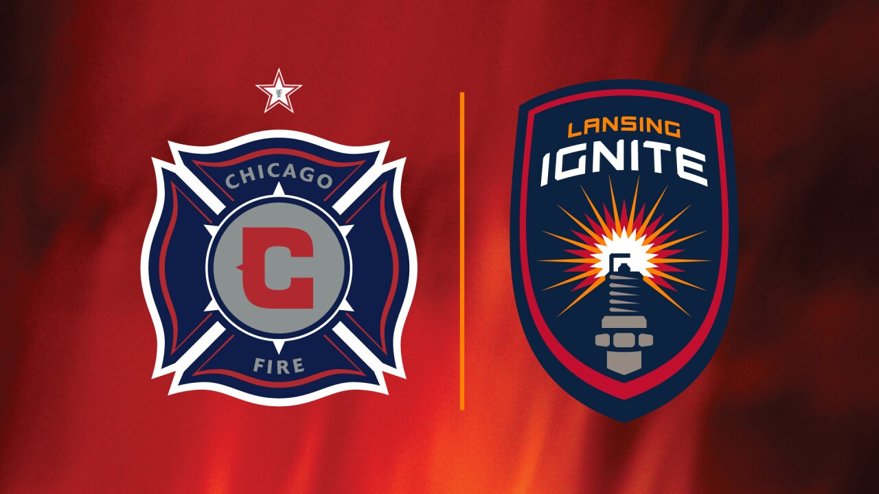 Chicago Fire Soccer Club Lansing Ignite Form Alliance