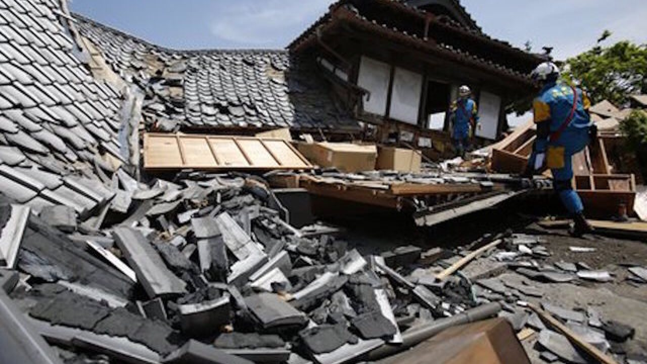 Japan quake: 'I thought I was going to die'