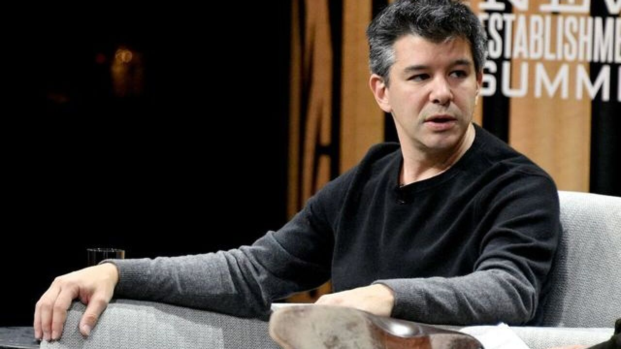 Uber CEO caught on dashcam video berating driver over fares