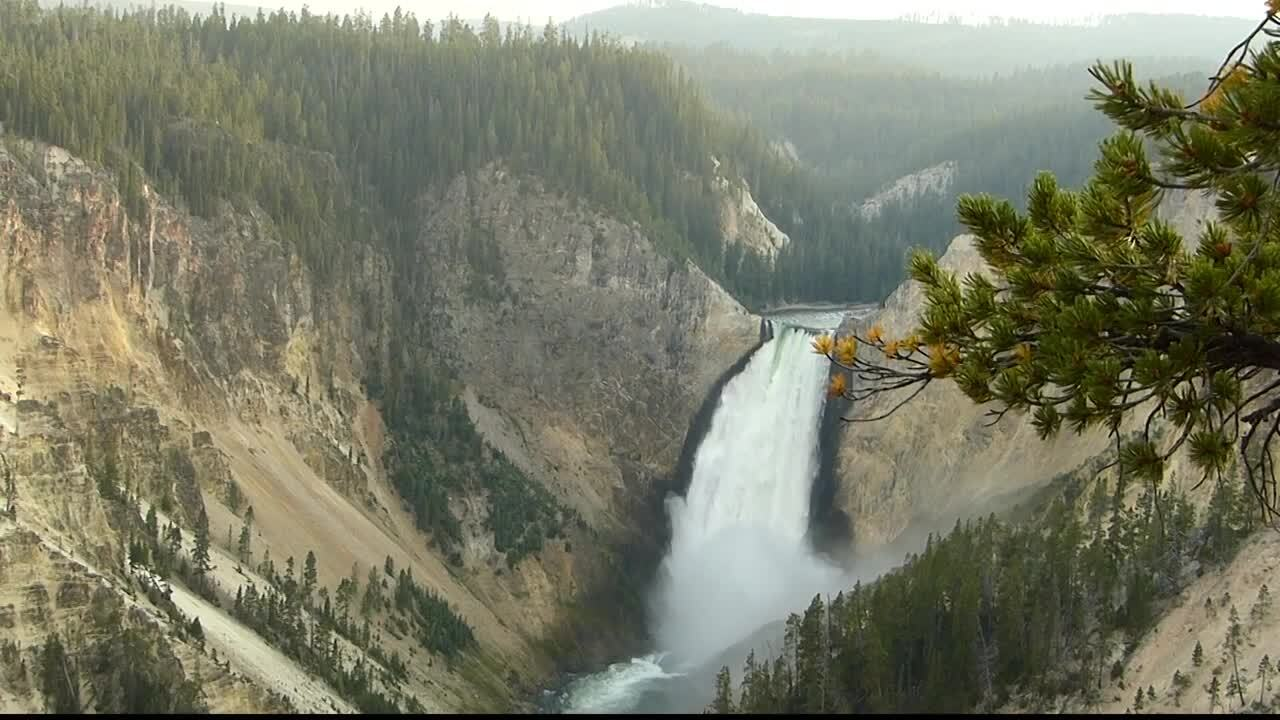 Yellowstone National Park Falls