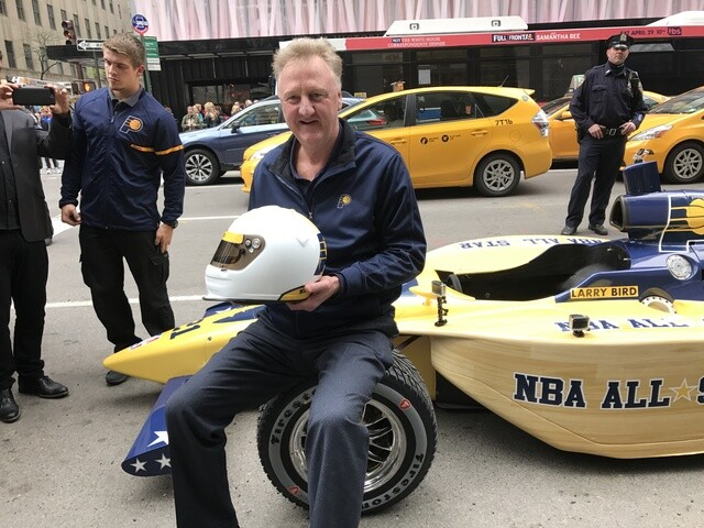 PHOTOS: Larry Bird bids for NBA All-Star 2021 game for Indianapolis