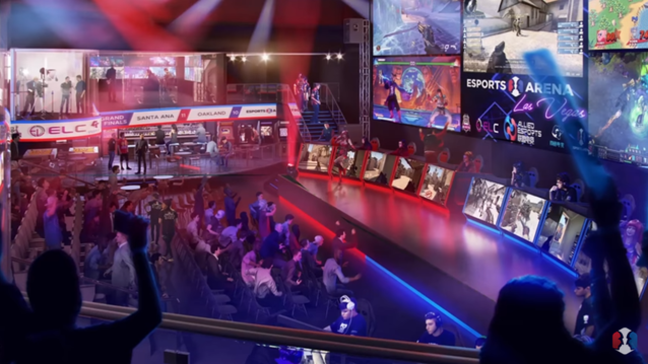 Esports arena to open at Luxor hotel-casino