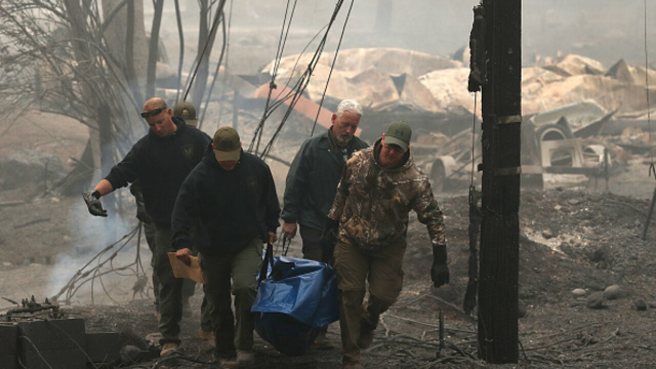 Holding out slim hope as crews search for more Camp Fire dead