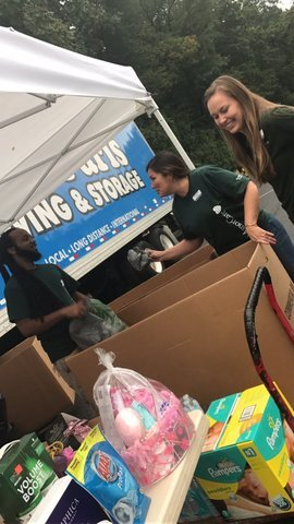 Take action for Texas, ABC2 filling up a truck with donations