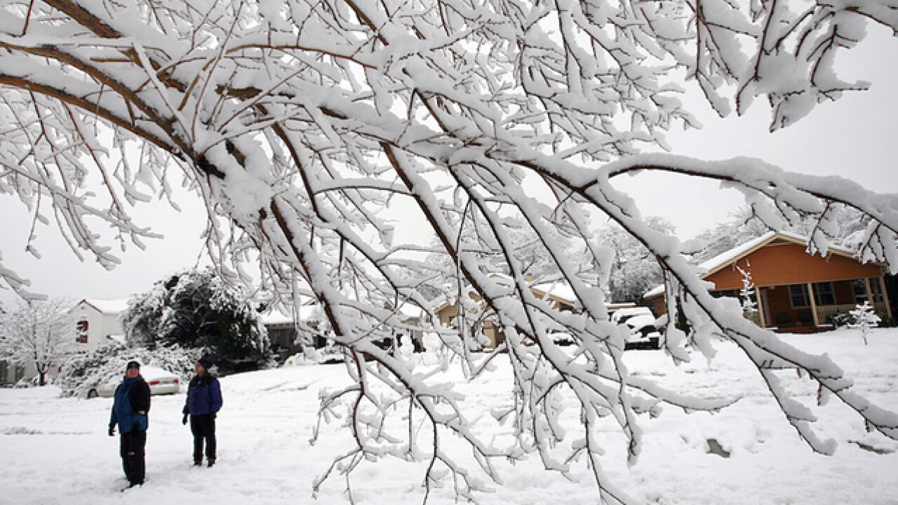 'Historic blizzard' expected in Texas, Oklahoma