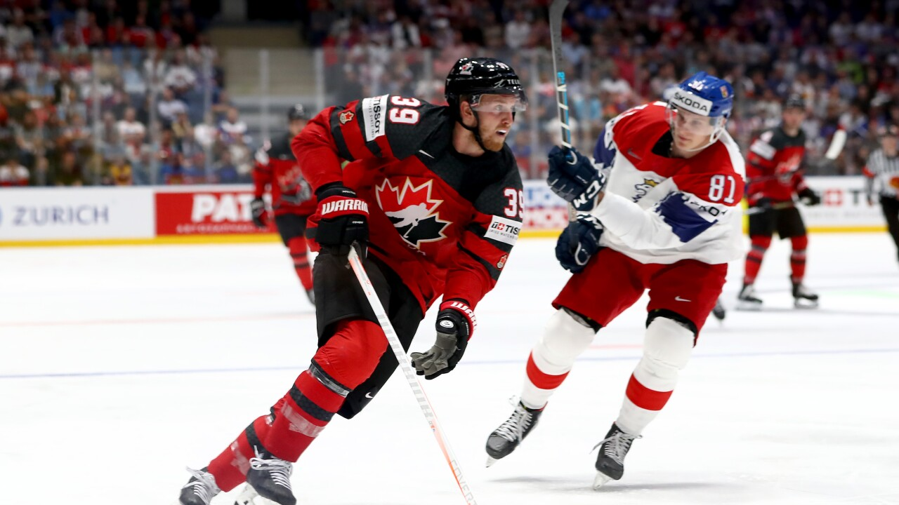 Anthony Mantha Helps Canada Advance To World Hockey Title Game Vs
