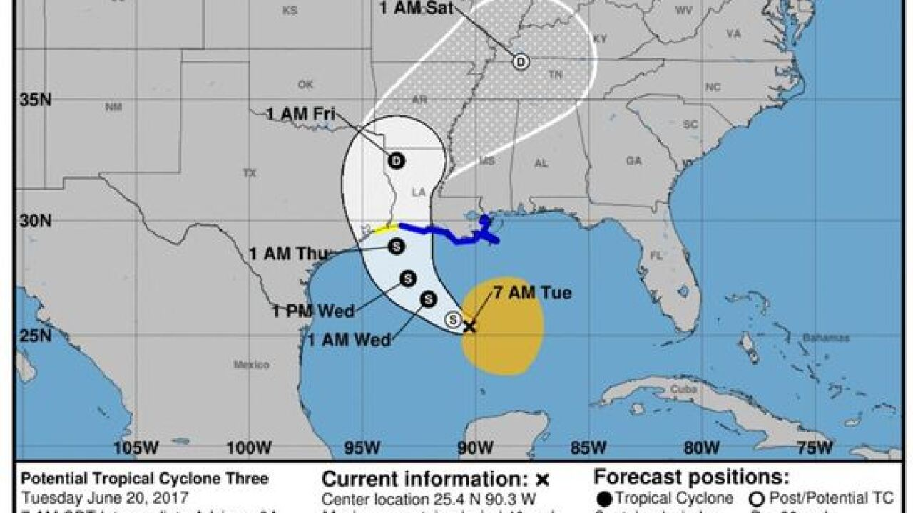 Wednesday's Weather Word: Potential Tropical Cyclone