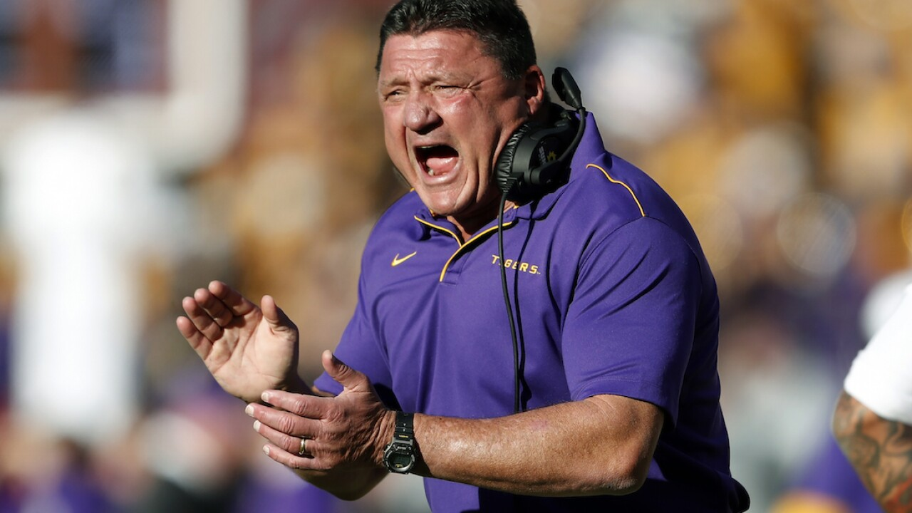 Orgeron: Most LSU players have had, recovered from COVID-19