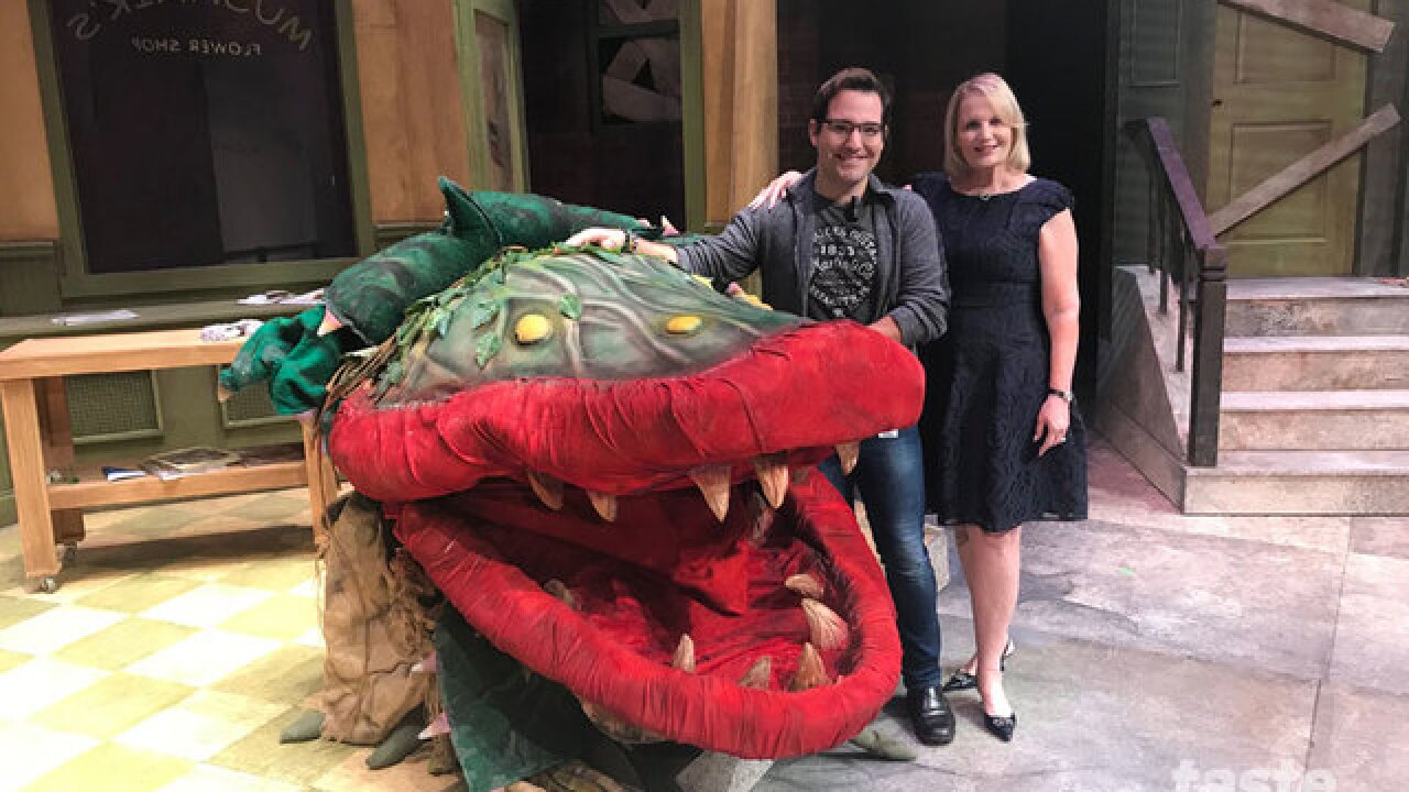 Little Shop of Horrors opens tonight at the Kravis Center