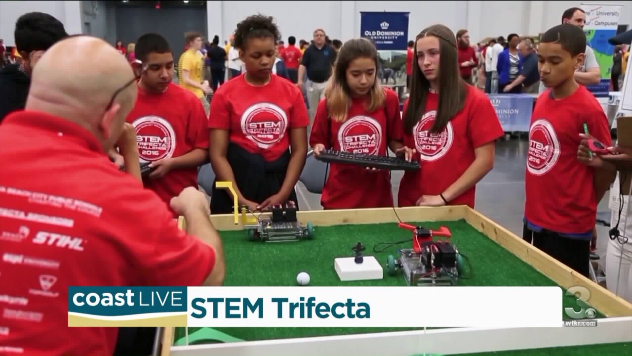 Local students working with robots and learning to fight hackers on CoastLive