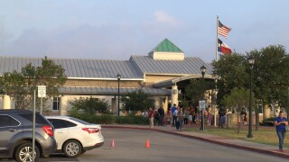 Tightened security today at schools across the Tuloso-Midway  Independent School District