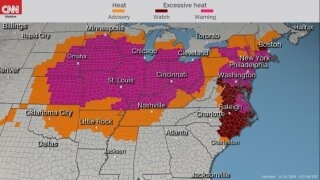 More than 200 million people are under heat watches, warnings