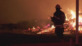 PHOTOS: Fire Damages 3 North Nashville Homes
