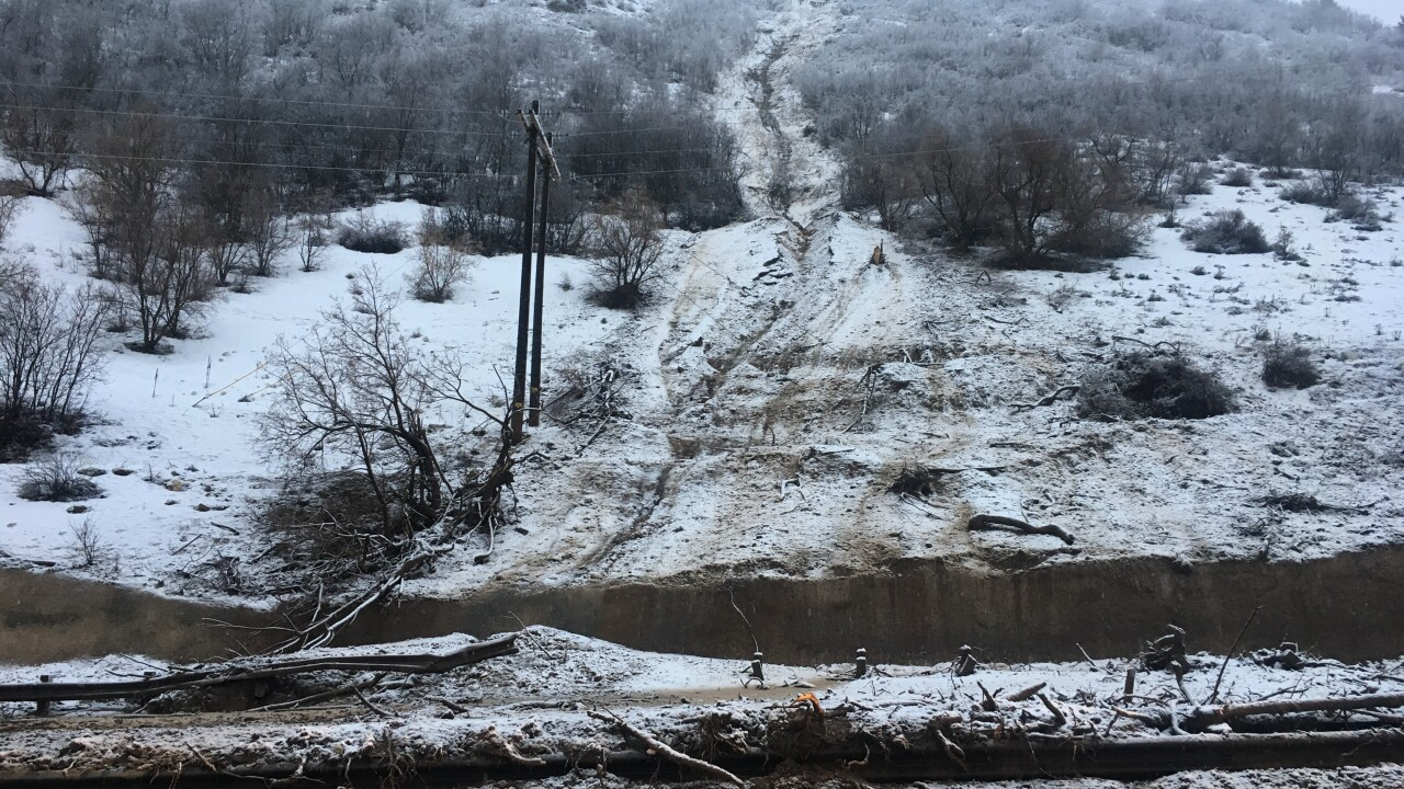 Provo Canyon reopens after overnight mudslide caused closure