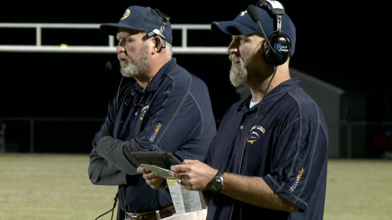 Ocean Lakes head coach Joe Jones honored by Washington Redskins