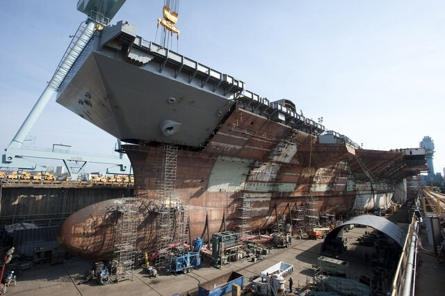 Photos: See the USS Gerald R. Ford ahead of commissioning