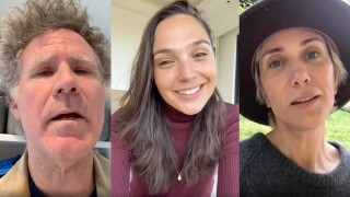 Celebs join forces for uplifting 'Imagine' cover amid COVID-19 crisis