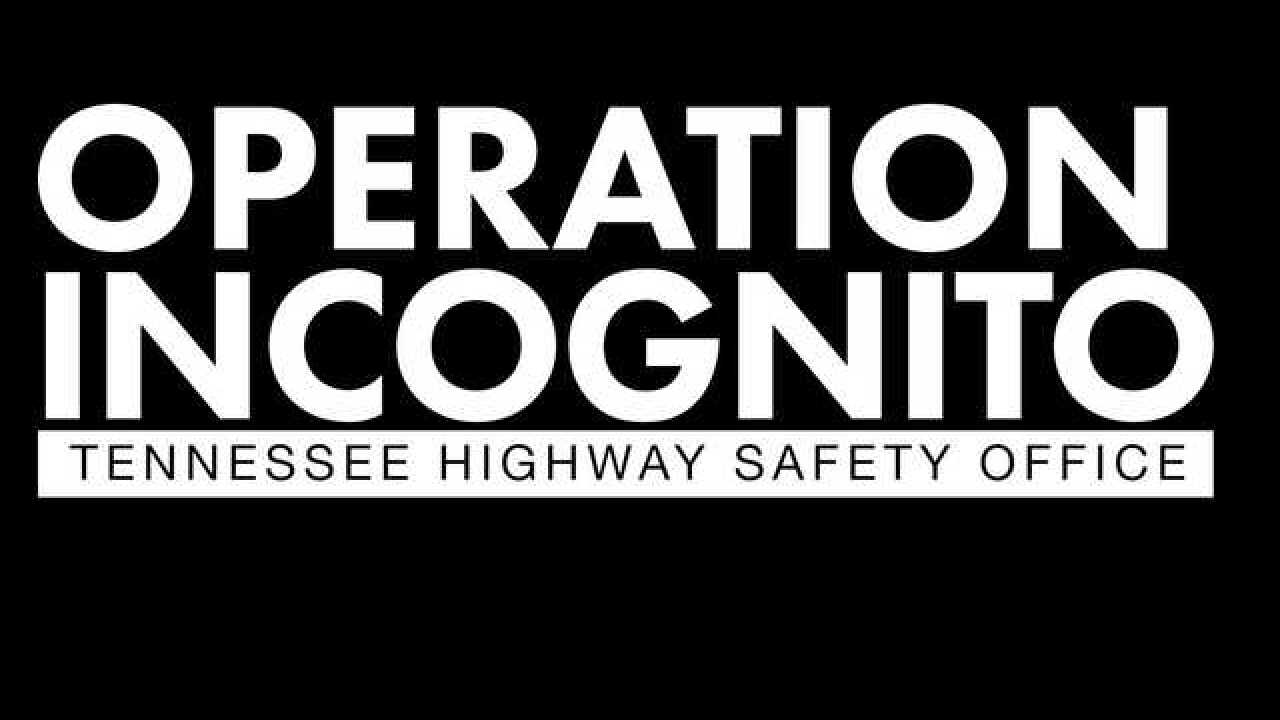 Law enforcement launches Operation Incognito