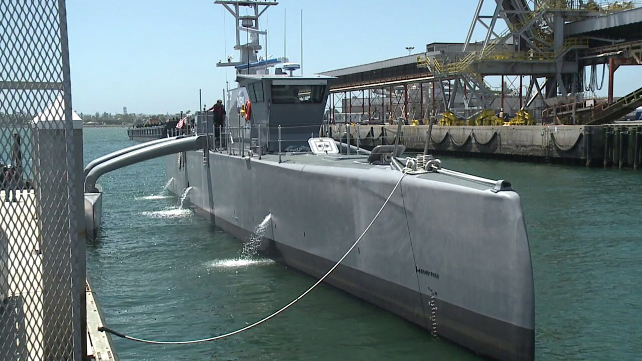 Navy looks to incorporate unmanned ships into the futurefleet