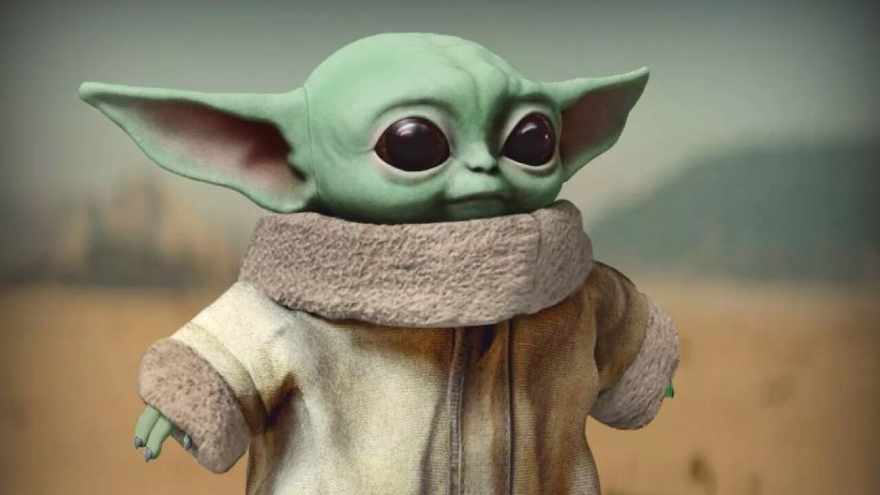 'Baby Yoda' toys up for pre-order