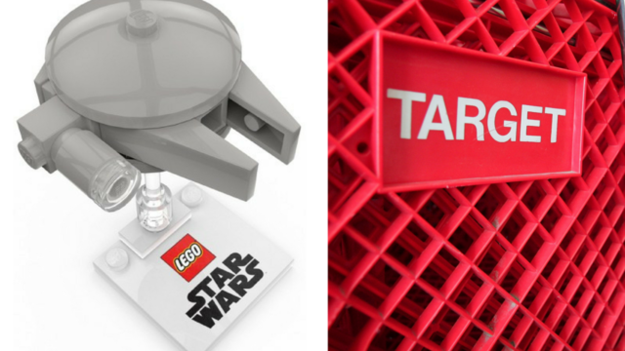 Free Millennium Falcon with Legos purchase at Target
