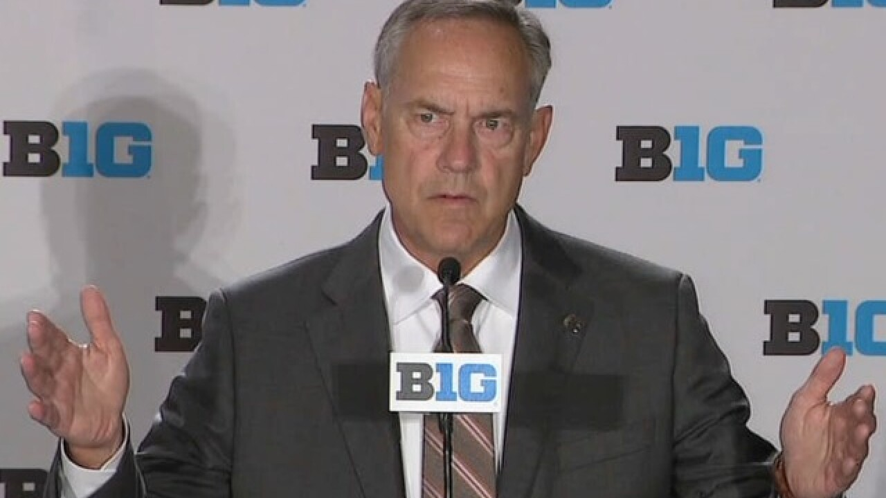 WATCH: Mark Dantonio's press conference from Big Ten media days