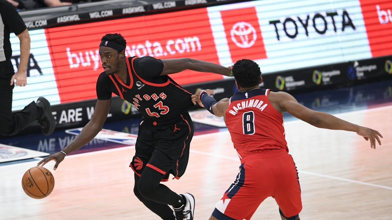 Raptors Wizards Basketball
