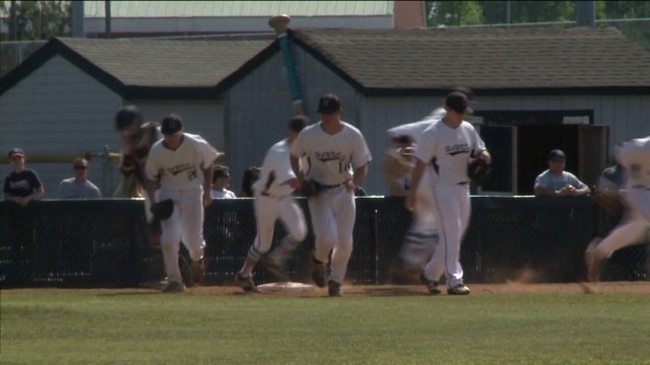 Hickory baseball grabs 5A south title