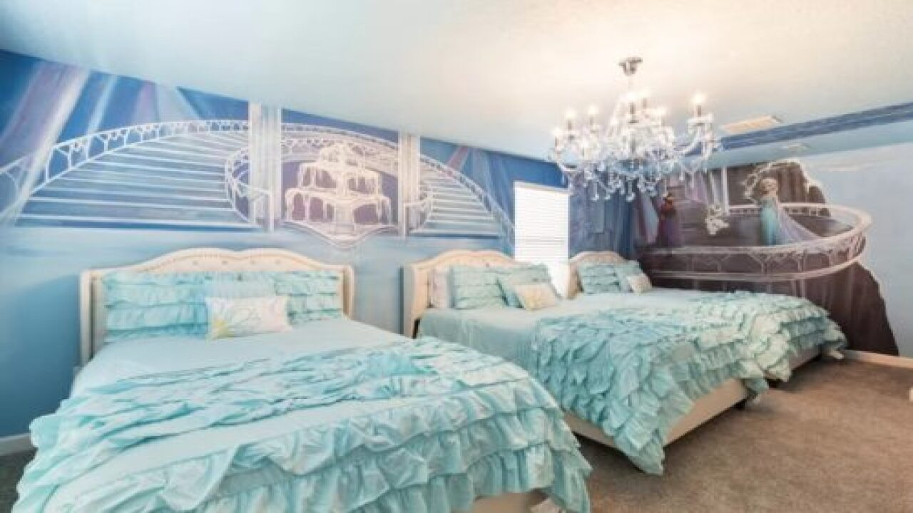 These 6 'Frozen'-inspired Vacation Rentals Are Perfect For Trips With Kids