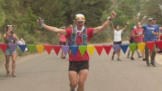 Four days & 200 miles: Run raises money for family who lost everything in Caldor Fire