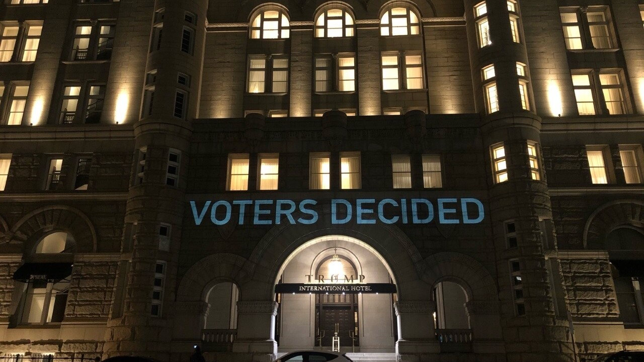 PHOTOS: Pictures of Shirkey, Chatfield displayed on Trump's DC hotel