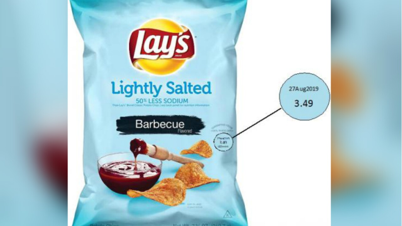 Frito-Lay recalls some barbecue chips because they might