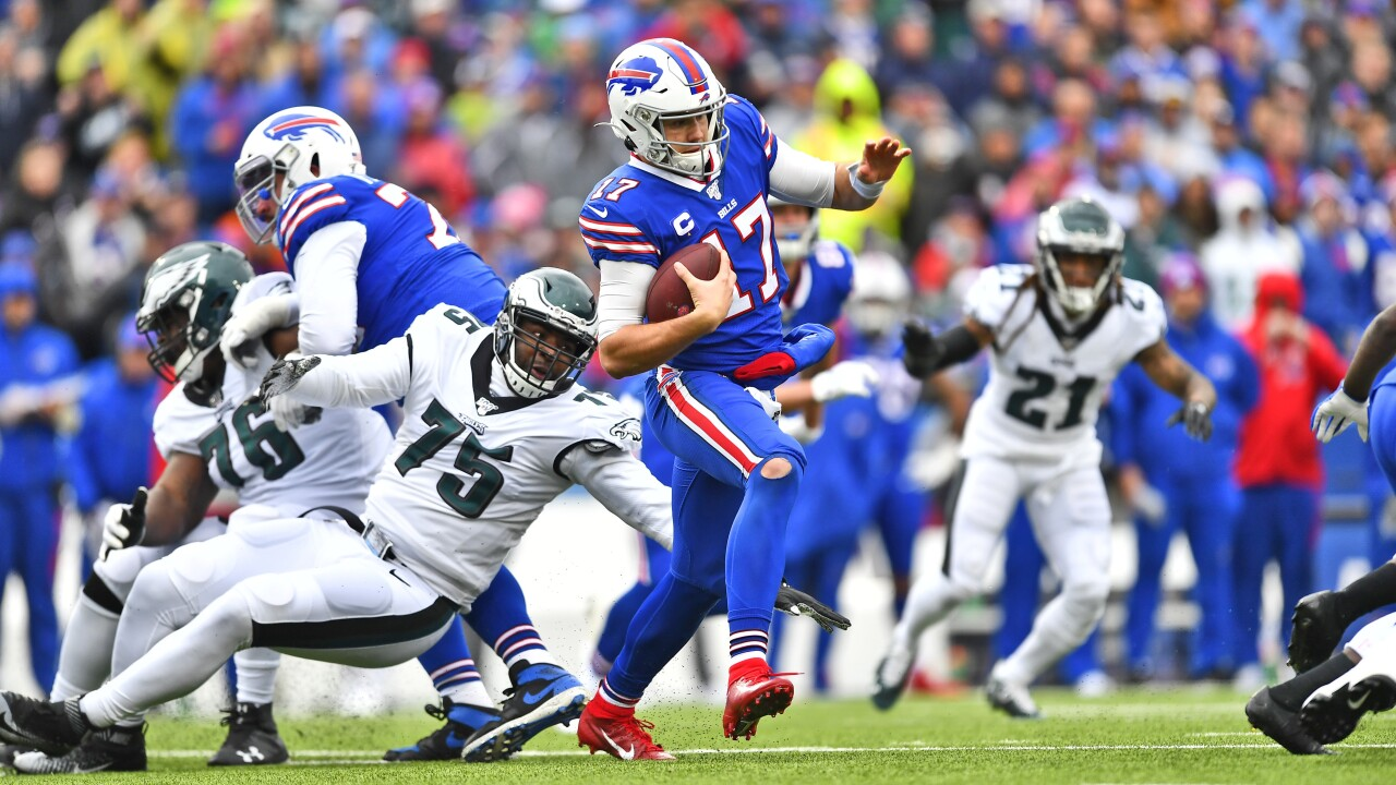 Eagles Bills Football