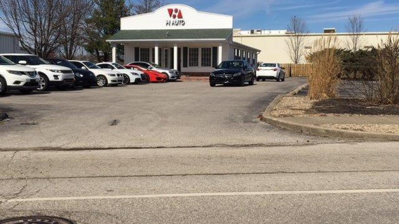 Indiana auto dealer told to stop car sales