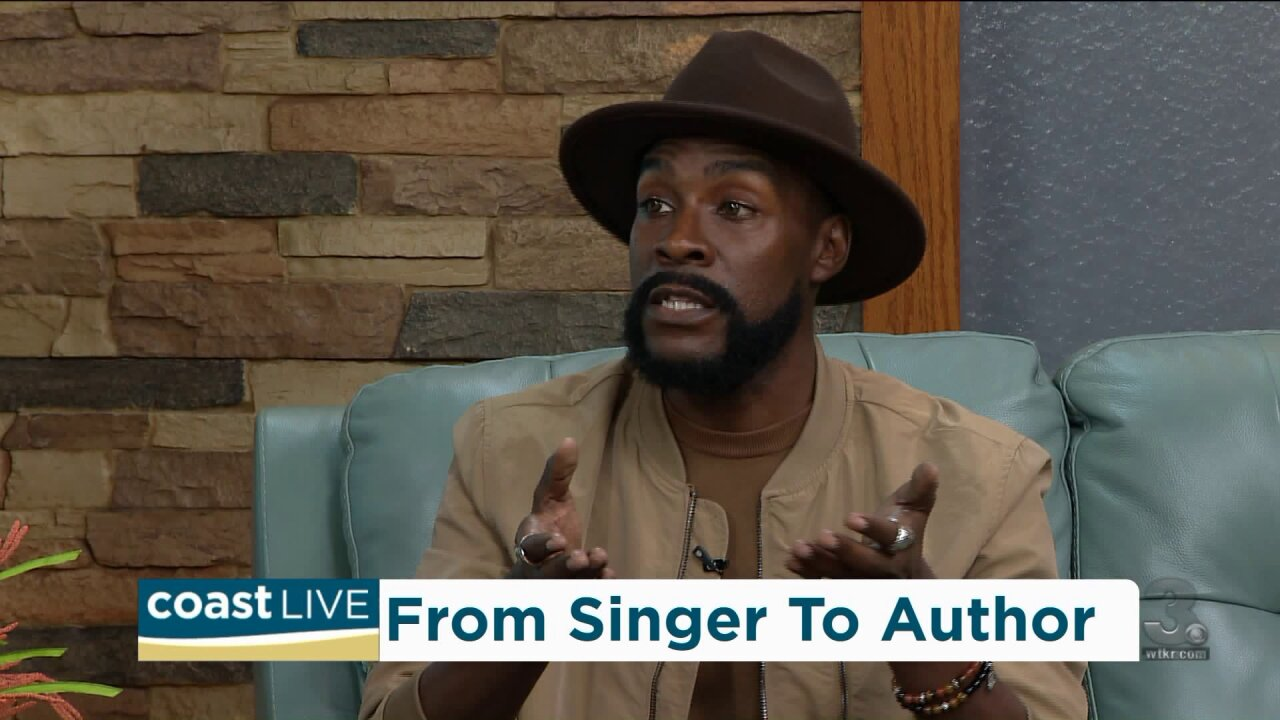 "Singer K'Bana Blaq talks abouthis new book and ""Love Over Hate"" on Coast Live"