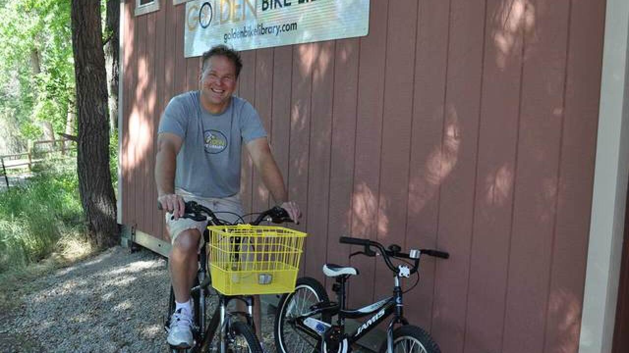 Debbie's Deals: Borrow a bike at the Golden Bike Library at the Golden Visitors Center for free