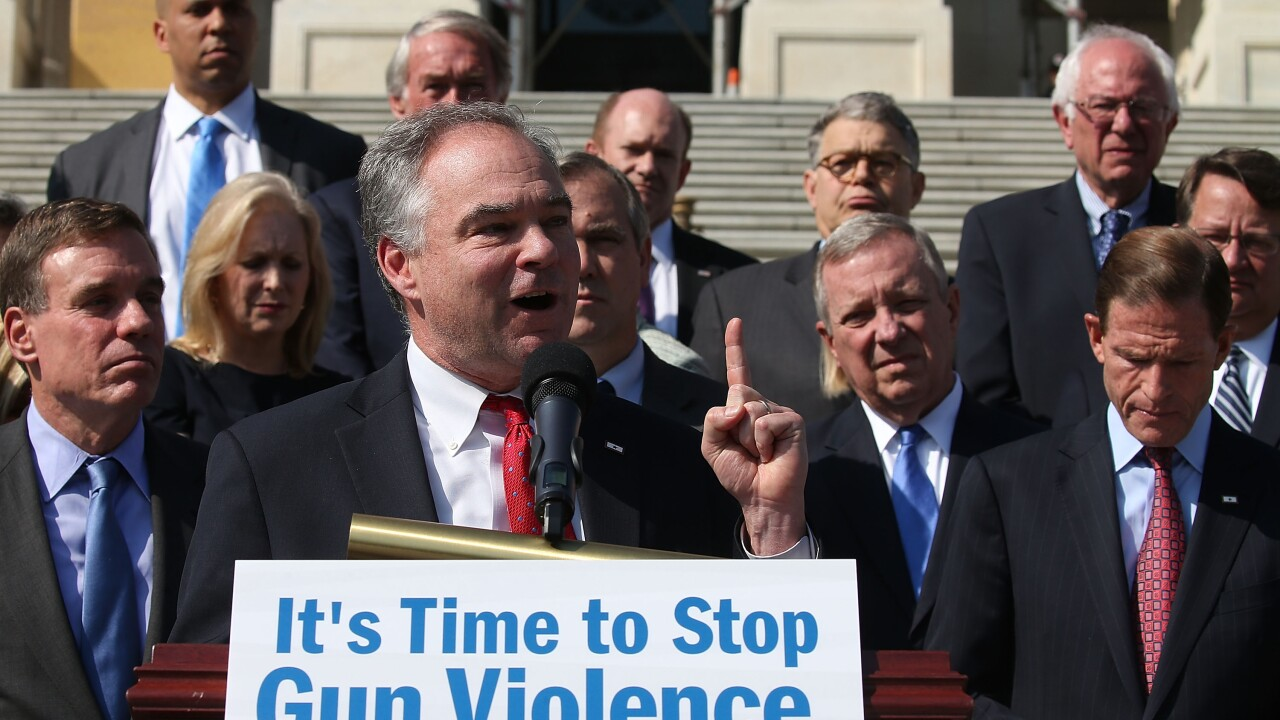 Sen. Tim Kaine could be Hillary's point man on guns