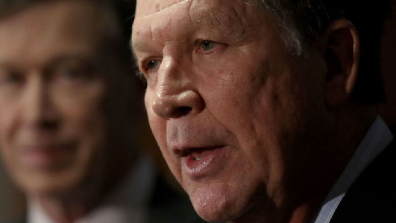 Kasich responds to Trump's Twitter attack with a laughing Putin GIF