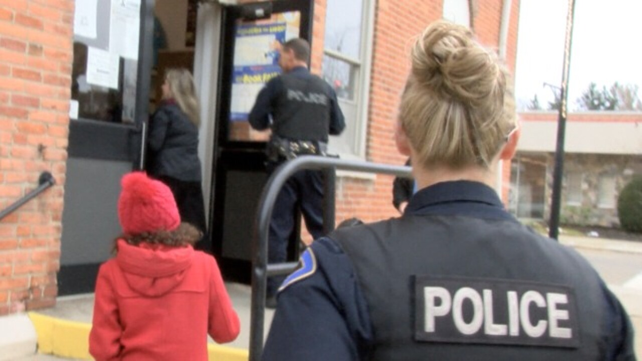 Police picking up kids suspected of leadership