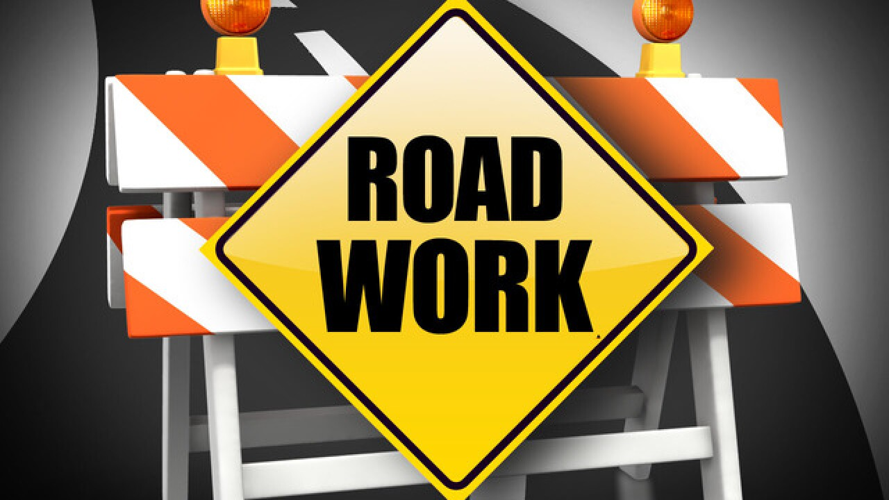 Electrical and striping work scheduled for State Route 58 and State Route 99 till Thursday