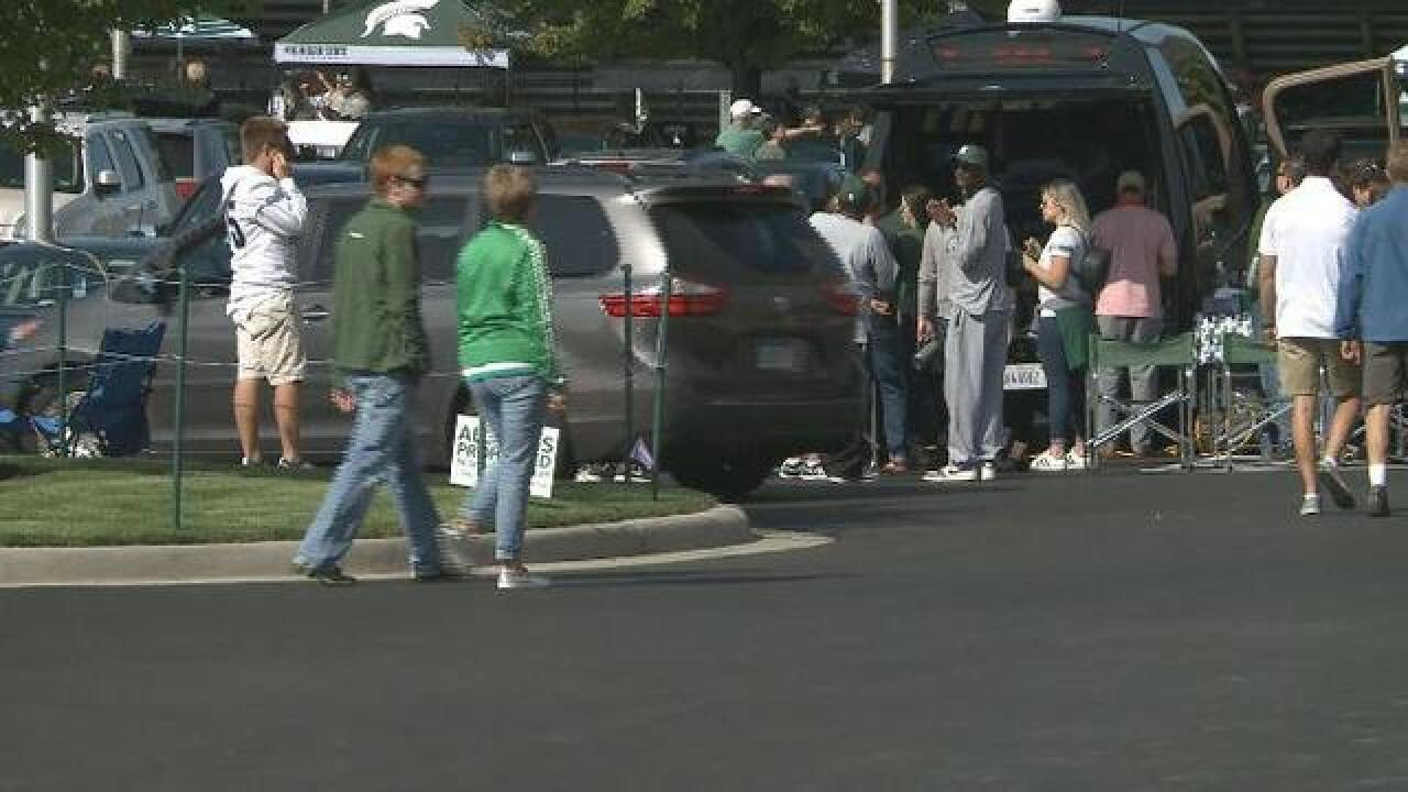 Friday night's game: No parking, tailgating at Munn Field