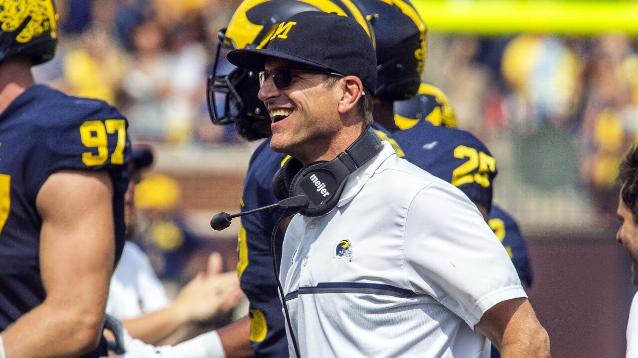 W Michigan Michigan Football Jim Harbaugh