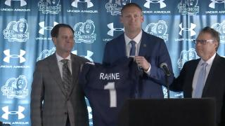 Old Dominion University introduces new football coach RickyRahne